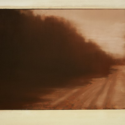 the-cctv-variations.-Old-Road.-45x60-cm-oil-on-linnen.-2014